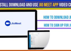 How to Install download and Use Jio Meet App Video Calling Conference App on Android