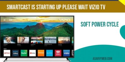 Smartcast is starting up please wait vizio tv