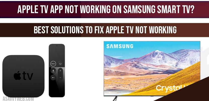 How to set up apple music app on Samsung smart tv?