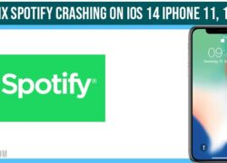 How to fix Spotify crashing on iOS 14 iPhone