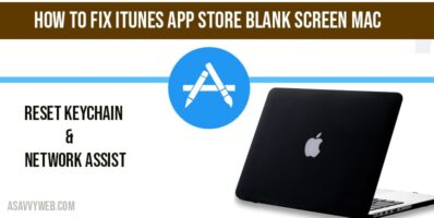 How to fix iTunes app store blank screen mac