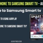 connect iphone to samsung smart tv using airplay