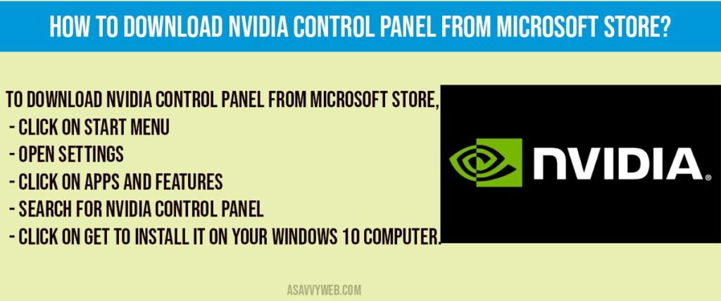 download-nvidia-control-panel-from-microsoft-store-min