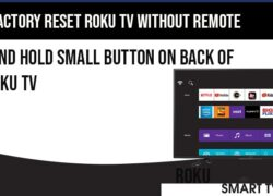 factory reset roku tv without remote