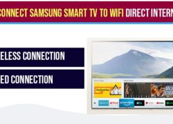 How to Connect Samsung Smart tv to WIFI Direct Internet