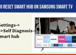 reset Smart hub on samsung smart tv