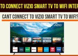 Connect VIZIO Smart Tv to WIFI Internet-min
