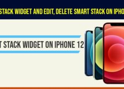 Add smart stack widget on iphone ios 14