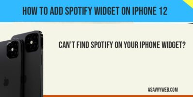 add spotify music on iphone 12