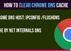 Clear chrome DNS cache