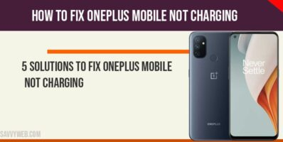 one plus mobile not charging