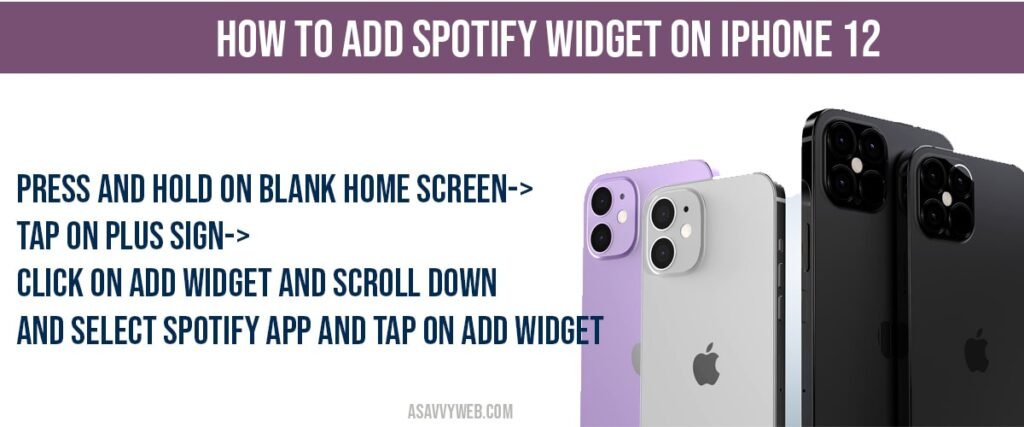how to add spotify music on iphone 12