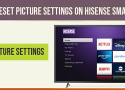reset picture settings on hisense tv