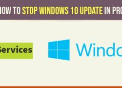 Stop windows 10 update in progress