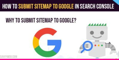 Submit sitemap to google in search console