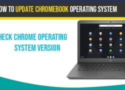 Update Chromebook Operating system