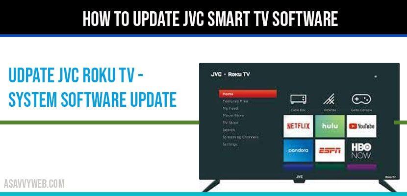 Update jvc roku tv