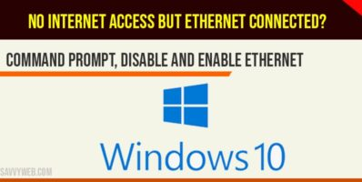 No internet access but ethernet connected