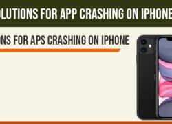 Apps keeps crashing on iphone