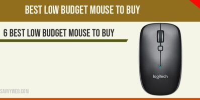 Best low budget mouse to buy
