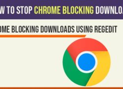 how to fix chrome blocking downloads