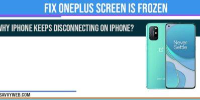 oneplus mobile screen frozen