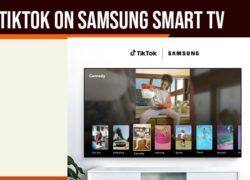 Tiktok on Samsung Smart tv