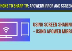 connect iphone to sharp tv