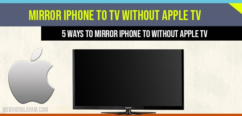 Mirror Iphone To Tv Without Apple, How To Mirror Iphone Roku Tv Without Wifi Or Apple