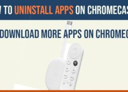 Uninstall apps on chromecast
