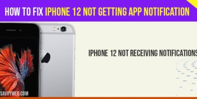 iPhone 12 not getting App Notification