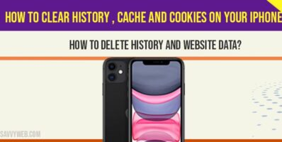 How to clear history , cache and cookies on your iPhone