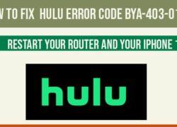 Hulu error code