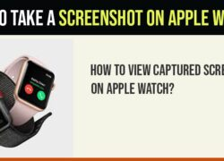 How to take screenshot on Apple watch