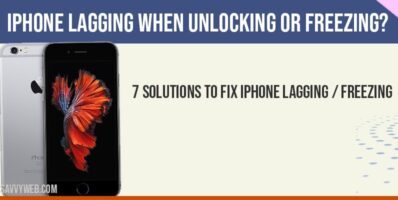 iPhone lagging when unlocking or freezing