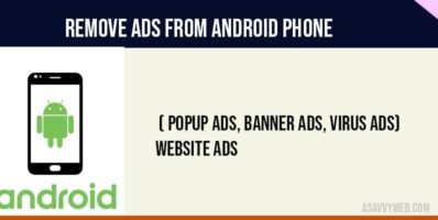 Remove banner ads from android phone