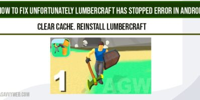 Unfortunately Lumbercraft has Stopped Error