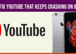 YouTube That keeps Crashing on iPhone X