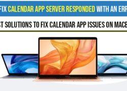 Calendar App Server Responded