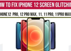iPhone 12 Screen Glitching