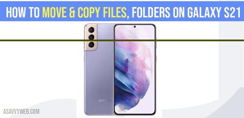 move copy files folder on galaxy