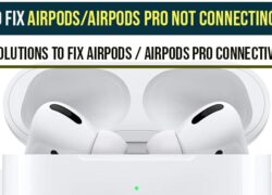 Airpods pro not Connecting to Mac