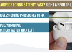 Airpods Losing battery fast