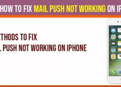mail push not working on iPhone