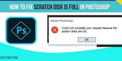 how to fix scratch disk is full in photoshop