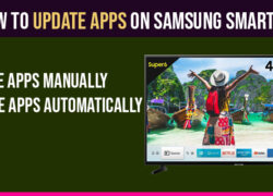 Update Apps on Samsung Smart TV