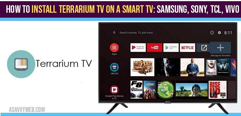 install Terrarium TV on a Smart tv