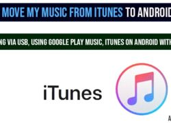 Move My Music from iTunes to Android