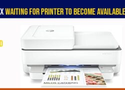 Waiting for printer to become available