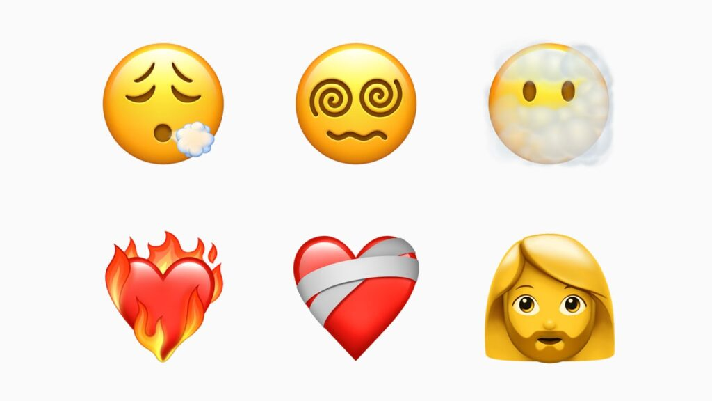 New emojis with iphone